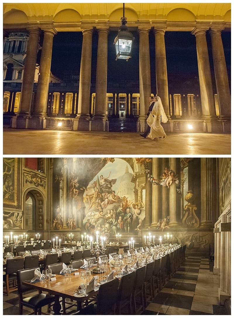Royal Naval College Greenwich Wedding, Steve & Lisa, London Winter Wedding - Benjamin Wetherall Photography ©0037