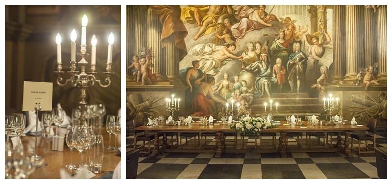 Royal Naval College Greenwich Wedding, Steve & Lisa, London Winter Wedding - Benjamin Wetherall Photography ©0038