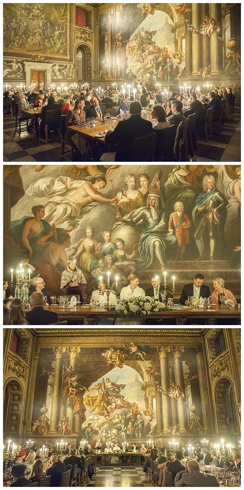 Royal Naval College Greenwich Wedding, Steve & Lisa, London Winter Wedding - Benjamin Wetherall Photography ©0043