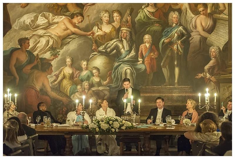 Royal Naval College Greenwich Wedding, Steve & Lisa, London Winter Wedding - Benjamin Wetherall Photography ©0048
