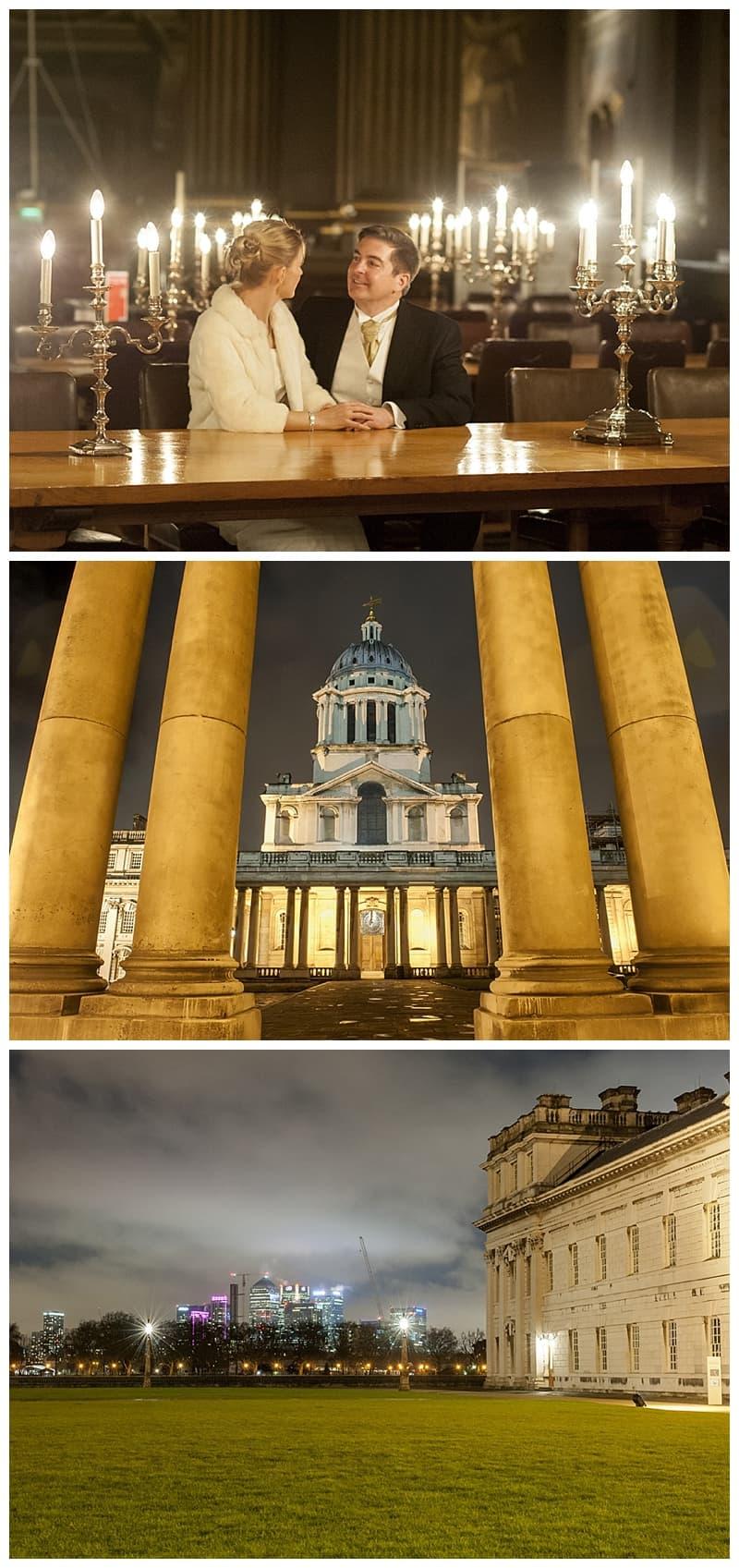 Royal Naval College Greenwich Wedding, Steve & Lisa, London Winter Wedding - Benjamin Wetherall Photography ©0050