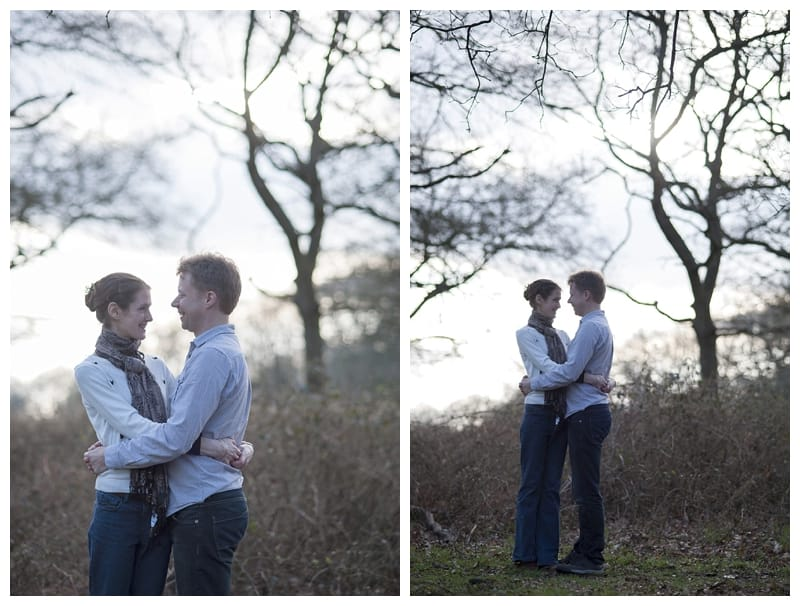 Alex & Laura, Richmond Park Engagement Photoshoot - Benjamin Wetherall Photography London ©0001