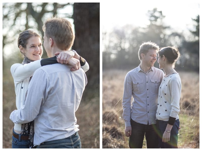 Alex & Laura, Richmond Park Engagement Photoshoot - Benjamin Wetherall Photography London ©0002