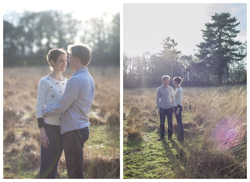 Alex & Laura, Richmond Park Engagement Photoshoot - Benjamin Wetherall Photography London ©0003