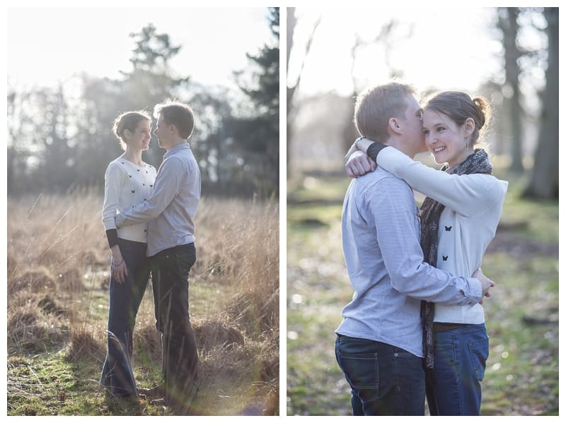 Alex & Laura, Richmond Park Engagement Photoshoot - Benjamin Wetherall Photography London ©0004