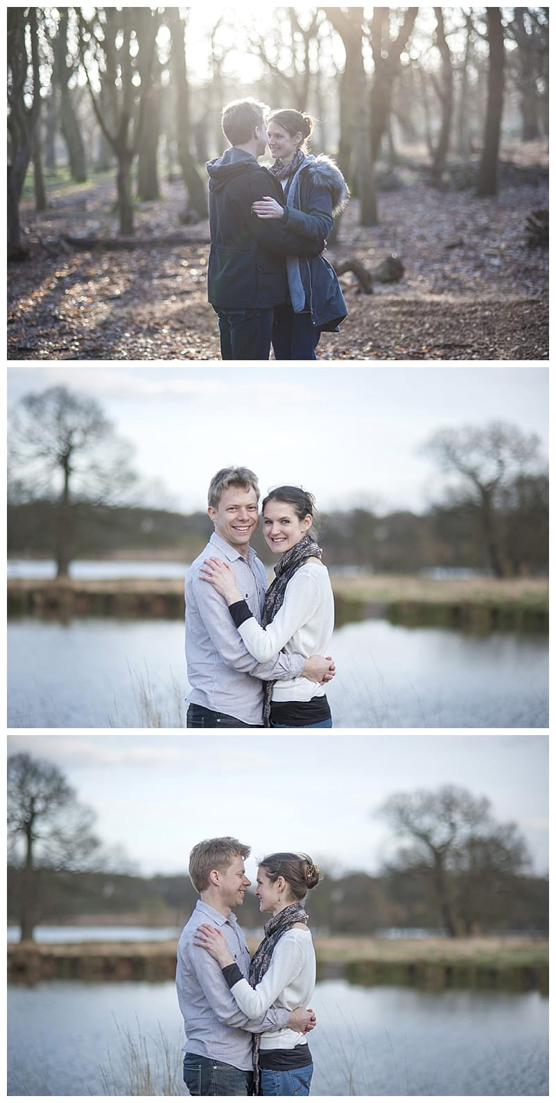Alex & Laura, Richmond Park Engagement Photoshoot - Benjamin Wetherall Photography London ©0006