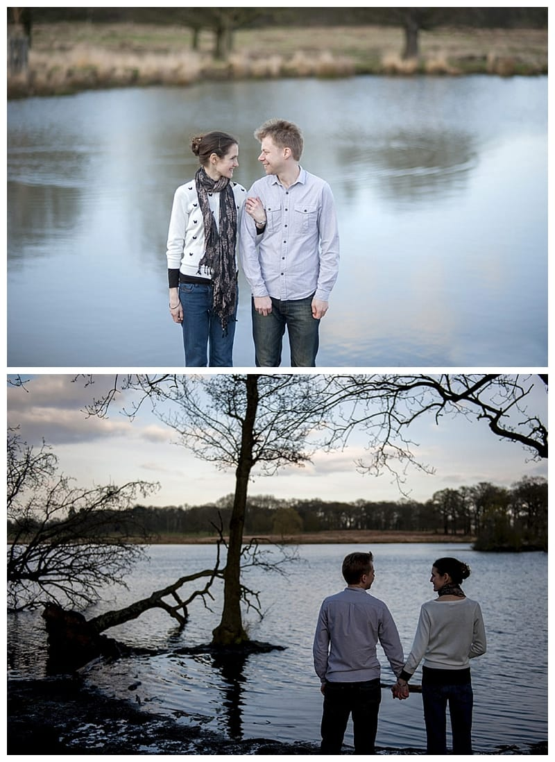 Alex & Laura, Richmond Park Engagement Photoshoot - Benjamin Wetherall Photography London ©0007