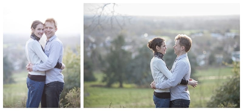 Alex & Laura, Richmond Park Engagement Photoshoot - Benjamin Wetherall Photography London ©0011
