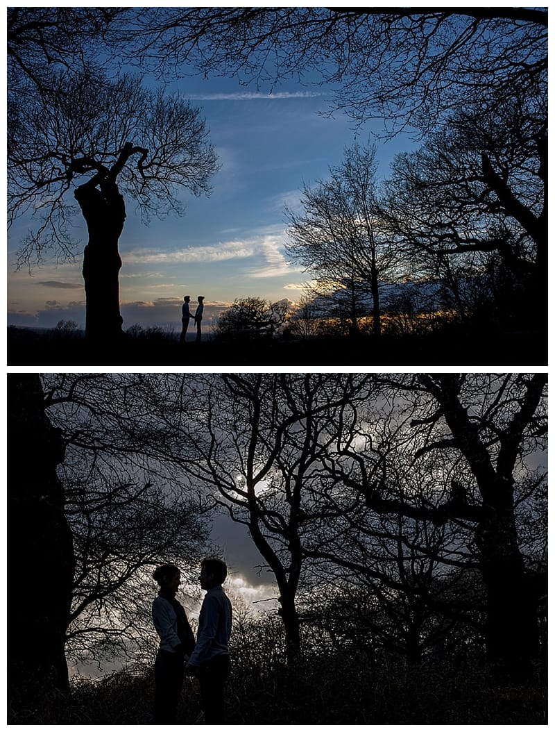 Alex & Laura, Richmond Park Engagement Photoshoot - Benjamin Wetherall Photography London ©0012