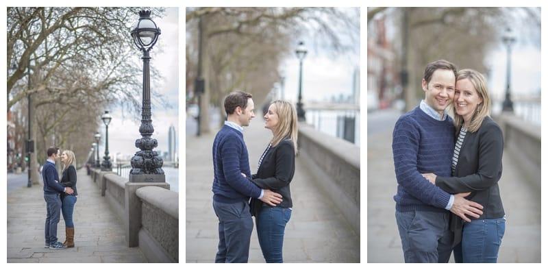 Sarah & Neil, Albert Bridge | Battersea Park | South West London Engagement Photoshoot, Benjamin Wetherall Photography ©0002