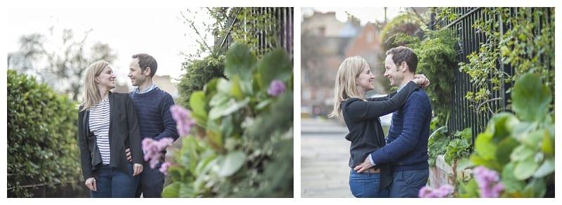 Sarah & Neil, Albert Bridge | Battersea Park | South West London Engagement Photoshoot, Benjamin Wetherall Photography ©0006