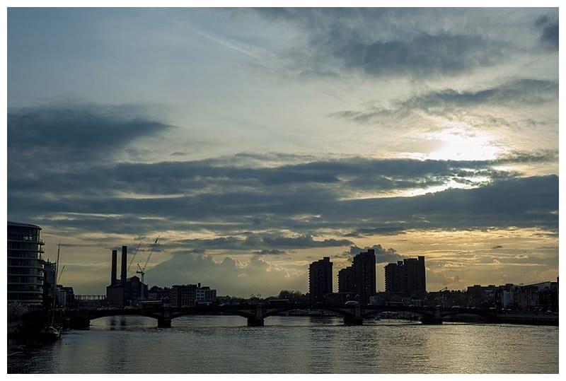 Sarah & Neil, Albert Bridge | Battersea Park | South West London Engagement Photoshoot, Benjamin Wetherall Photography ©0009