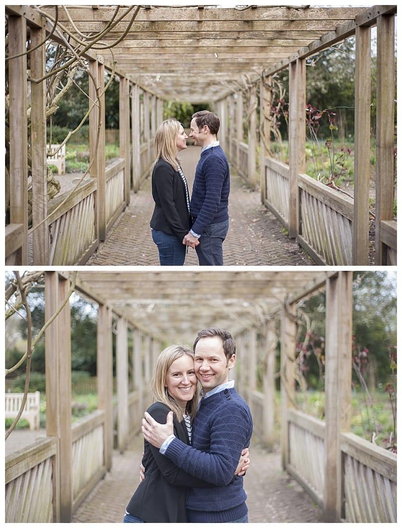 Sarah & Neil, Albert Bridge | Battersea Park | South West London Engagement Photoshoot, Benjamin Wetherall Photography ©0010