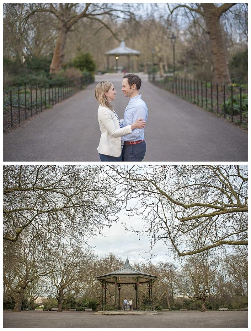 Sarah & Neil, Albert Bridge | Battersea Park | South West London Engagement Photoshoot, Benjamin Wetherall Photography ©0013