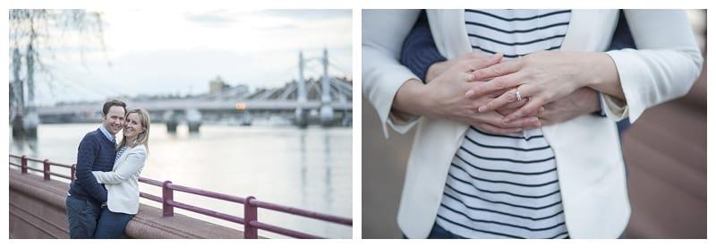 Sarah & Neil, Albert Bridge | Battersea Park | South West London Engagement Photoshoot, Benjamin Wetherall Photography ©0015