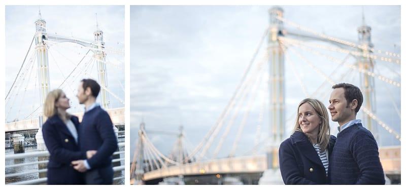 Sarah & Neil, Albert Bridge | Battersea Park | South West London Engagement Photoshoot, Benjamin Wetherall Photography ©0016