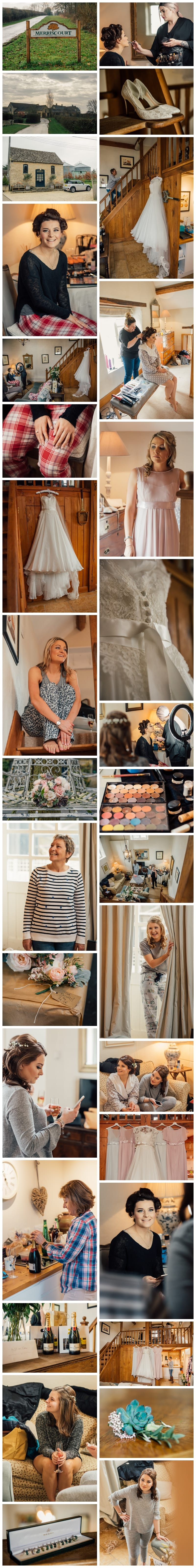 Merriscourt Pump House Bridal Preparation