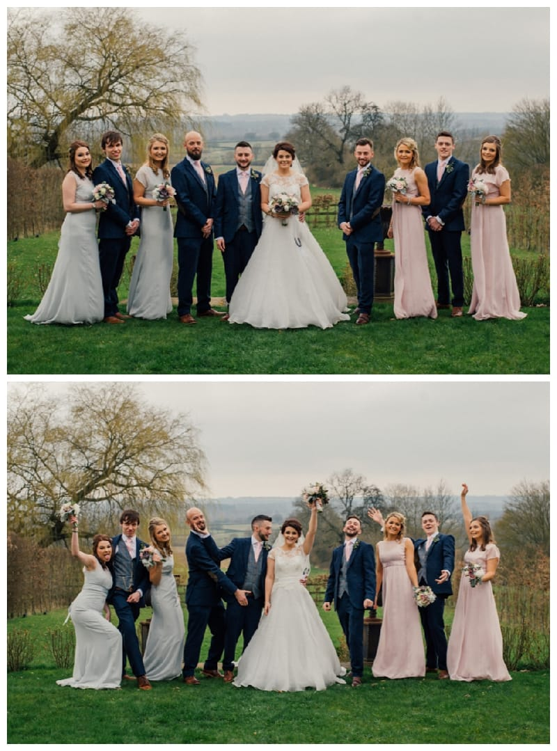 Merriscourt Wedding Bridal Party