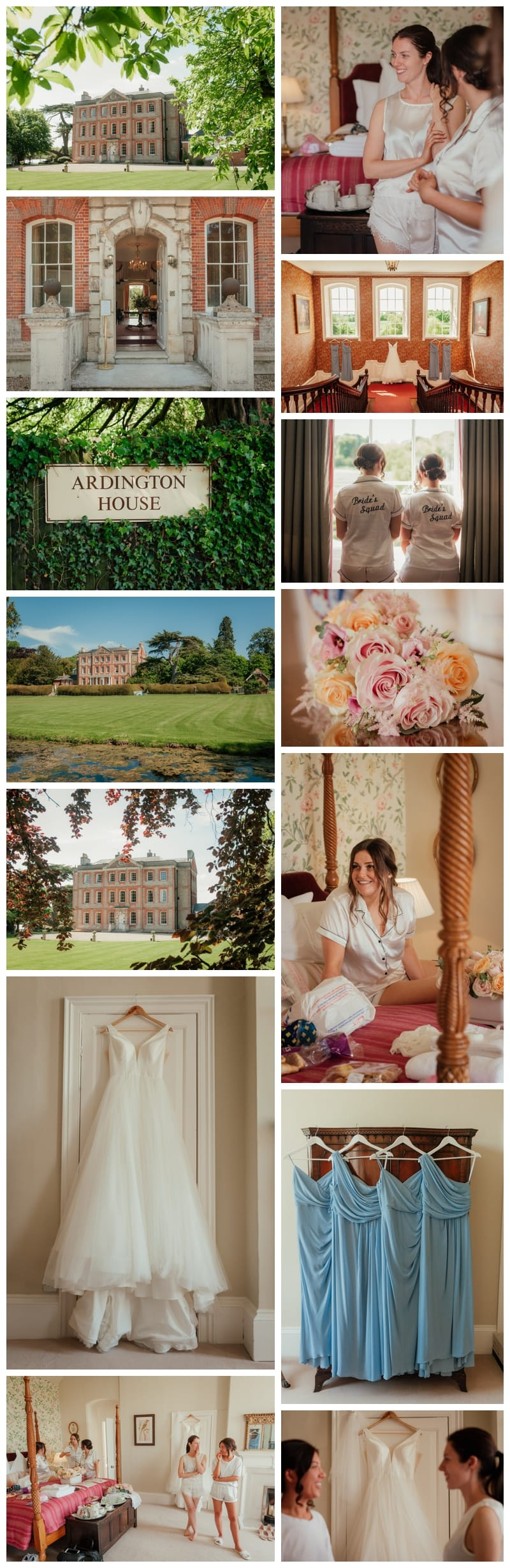 Bridal Preparation Stately Home